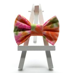 Neon Blooms Hair Bow