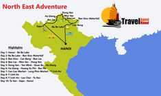 Enjoy a 10 day North East tour of the less touristy parts of Vietnam. Vietnam, Tours, Adventure, Day, Travel, Viajes, Destinations, Adventure Game, Traveling