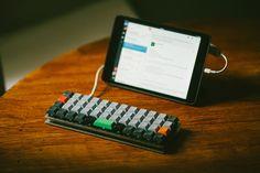 Planck Keyboard + iPad - Imgur