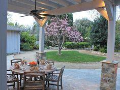 Mediterranean-Inspired Backyard
