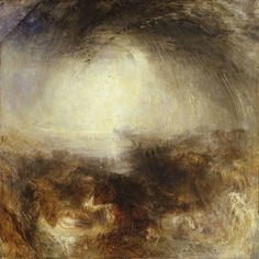 Joseph Mallord William Turner, 'Shade and Darkness - the Evening of the Deluge' exhibited 1843