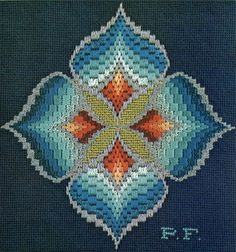 Bargello magic (undecided if I might truly make this, however one can want!) Bargello magic (undecided if I might truly make this, however one can want!) Bargello magic (undecided if I might truly make this, however one can want! Motifs Bargello, Broderie Bargello, Bargello Quilt Patterns, Bargello Needlepoint, Bargello Quilts, Needlepoint Stitches, Quilting Patterns, Needlework, Hardanger Embroidery