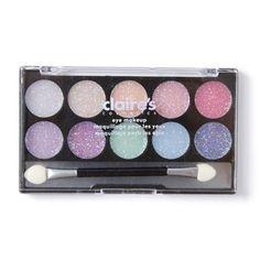 Pastel Glitter Eye Makeup Kit | Claire's
