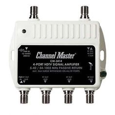 Signal Amplifiers and Filters: Channel Master 3414 Mini Distribution Drop Amplifier Uhf Vhf Multi-Media Cm3414 -> BUY IT NOW ONLY: $34.95 on eBay!
