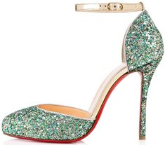 Cabaret-Inspired Christian Louboutin 'Tango Alto' Leather Pumps