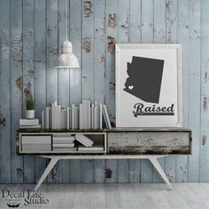 Spice up your walls with our premium vinyl decal wall art. 😍 The look of freshly painted words without the mess, time⌚or effort of painting. 🎨 We have a wide variety of colors to choose from. Decal Life Studio 🌟 Arizona Raised Wall Decal