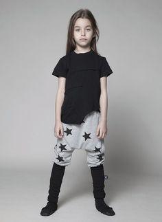 Nununu Star Donkey Pants in Grey