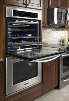 30 Inch Convection Double Wall Oven, Architect® Series II (KEBS207BSS) |  Kitchenaid® | Stuff To Buy | Pinterest | Ovens, Double Wall Ovens And Wall  Ovens