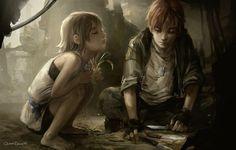 Прямо кусок из детства Рика и Киры.