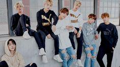 bangtan boys; PUMA X BTS