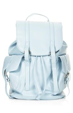 Topshop Faux Leather Backpack available at #Nordstrom