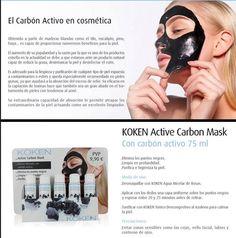 ¿Quieres eliminar los puntos negros? ¿Te hace falta una limpieza en profundidad? Necesitas KOKEN Active Carbon Mask. Mascarilla de carbón activo: la piel queda suave, limpia, y desinfectada, libre de microorganismos. ¡Por solo 9,90 € purifica tu #piel! Más información: ☎ Llámanos al 954 63 30 60