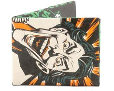 The Joker's Last Laugh Mighty Wallet Serial killer and a super-villain, a dangerous madman.