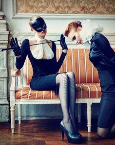 Model: Nina Reijnders and ?  Stylist: Hakan Öztürk  Photographer: Korlay Parlak