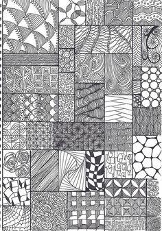 zentangle patterns @Cindi Allen :)