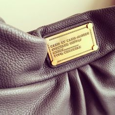 Marc by Marc Jacobs bag details, via Fashion Hoarder