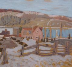 Albert Robinson - La Malbaie x 13 Oil on panel Oil, Landscape, Artist, Painting, Painting Art, Landscape Paintings, Paintings, Painted Canvas, Artists