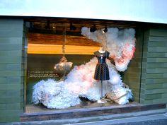 Anthropologie window display in New York. <3