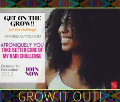 TBCH Challenge: Oct-Dec 2012 REGISTRATION Sign-Up. If you want longer, healthier, stronger hair, sign up now! #naturalhair -Take Better Care of My Hair challenge!! on Afroniquely You