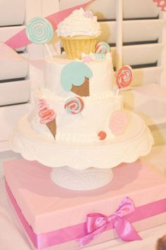 """Photo 4 of 15: Candy Shoppe / Birthday """"Alexa's Candy Shoppe Dessert Table"""" 