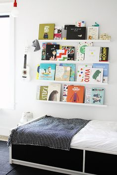 Decorate your child's room with books