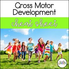 Children love to move. Gross motor development in preschool shouldn't just be limited to recess. How can preschool teachers encourage the growth of gross motor skills? Free cheat sheet!