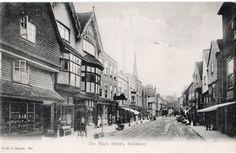 Street Look, Street View, Salisbury