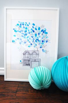 housewarming party guestbook | printable guestbook | diy guestbook
