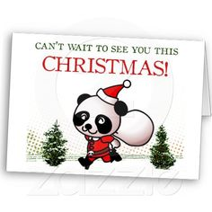 Can't wait to see you this Christmas! Greeting Cards