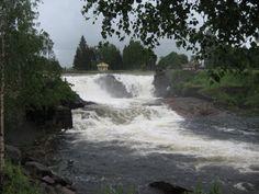Munkfors watervallen