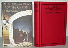 Agatha Christie - Murder In The Mews- Facsimile Edition, At Bertram's Hotel, Agatha Christie, Book Collection, Novels, Books, Ebay, Vintage, Libros, Book