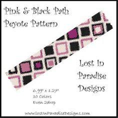 Rose et noir Chemin peyotl motif