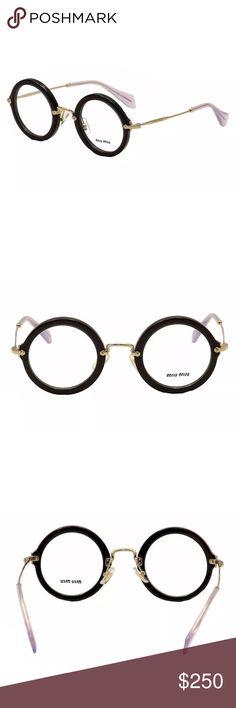 🌈MOVING SALE🌈 Miu Miu Eyeglasses NWT / TV: $250 Miu Miu Accessories Glasses