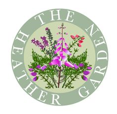 Logo created for local Heather growers and nursery based in Wimborne, Dorset. Heather Gardens, Logo Design, Graphic Design, Garden Supplies, Nursery, Create, Holiday Decor, Baby Room, Child Room