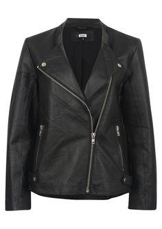 BikBok leather jacket