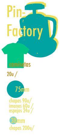 Fabricamos chapas y camisetas mas info en pinpongo@gmail.com