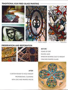 Some of the work we do - Art Glass Creations LLC St. Louis, MO  314-832-6410