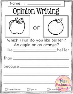 October Writing Prompts contains 60 pages of writing prompts worksheets. This pr… October Writing Prompts contains 60 pages of writing prompts worksheets. This product is suitable for kindergarten and first grade students. Informational Writing, Persuasive Writing, Teaching Writing, Narrative Writing, Writing Rubrics, Paragraph Writing, Writing Prompts For Kids, Writing Lessons, Kindergarten Writing Prompts