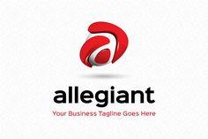 Allegiant Logo Template by Mudassir101 on Creative Market