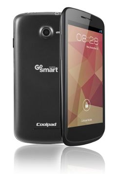"""New GoSmart #Coolpad Flo 4.5"""" Screen Google Smartphone with Front & Back Camera. No Contract, No Credit Check. GSM Network (850/1900/900/1800) UMTS (850/1700/190..."""