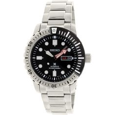 Seiko Men's Prospex SRP587K Silver Stainless-Steel Automatic Watch
