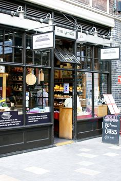 Review Eating London East End Food Tour: Androuet cheese