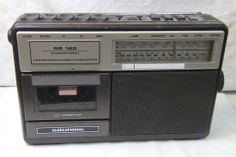 Radiomagnetofon Radios, Good Old Times, Cassette Recorder, Music Images, Boombox, Malaga, School Projects, Alter, Childhood Memories