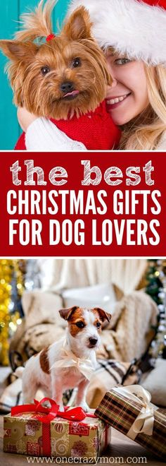 Find the best gift ideas for dog lovers here! 25 gift ideas for dog owners they will love. The best presents for dog lovers. Dog Christmas Presents, Christmas Gift Guide, Best Christmas Gifts, Christmas Dog, Best Gifts, Christmas Ideas, Presents For Dog Lovers, Gifts For Dog Owners, Dog Mom Gifts