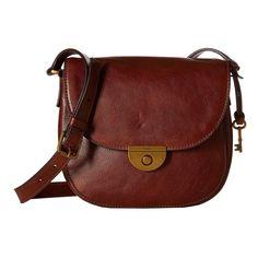 Fossil Emi Pebbled Saddle Handbag, Women's