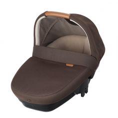 capazo amber earthbrown de bebe confort