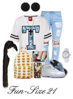 """""""Hott Headzz"""" Hmmm""""(Freestyle)"""" by fun-size21 ❤ liked on Polyvore featuring NIKE, Retrò, Chanel, sweet deluxe and David Yurman"""