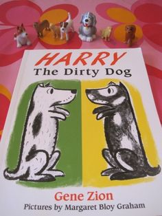 {Harry The Dirty DogFun}  I love it when I find blog posts that have activities with a book.  The dog bone cookies are cute too.  Our girls would love to play with plastic dogs in mud.  Adorable.