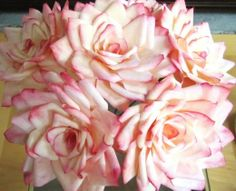DIY and Crafts: Coffee Filter Flowers