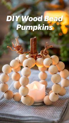 Fall Pumpkin Crafts, Easy Fall Crafts, Fall Pumpkins, Thanksgiving Crafts, Fall Diy, Holiday Crafts, Pumpkin Ideas, Diy Pumpkin, Diy Thanksgiving Decorations